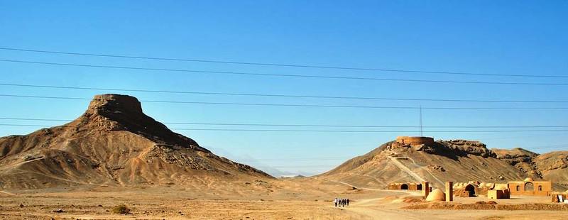 310 cementerio del Zoroastro en Yazd