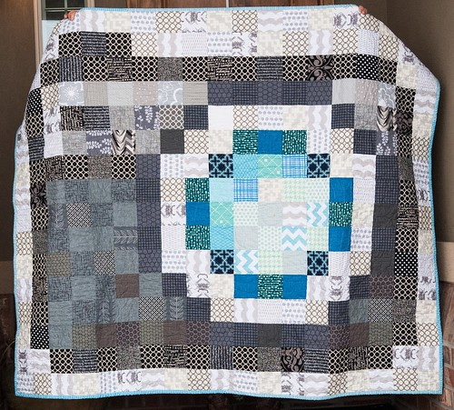 Pixelated Camera Quilt