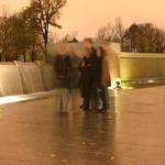 Long Exposure at WWII Memorial