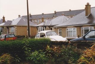 Kirsty's beetle, Colinton Grove, Nov 1993