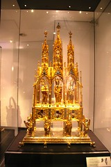 Charlemagne Reliquary in Aachen Cathedral Treasury