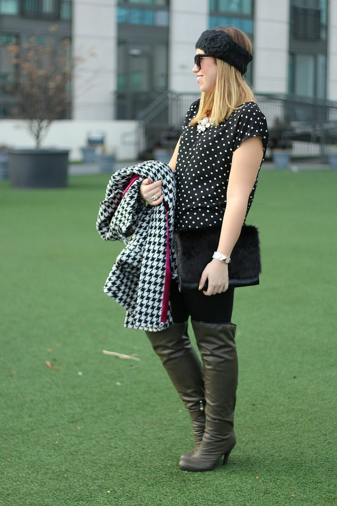 Polka Dots & Houndstooth   a Giveaway on Living After Midnite