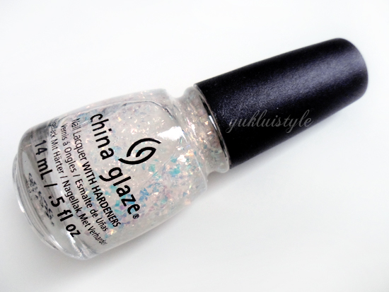 China Glaze Nail Lacquer in Luxe and Lush review and swatch