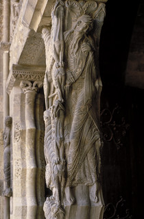 Prophet Jeremiah (or Isaiah?) from the Abbey church of St. Pierre