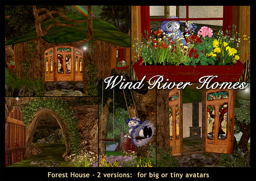 Forest House - Wind River Homes by Teal Freenote
