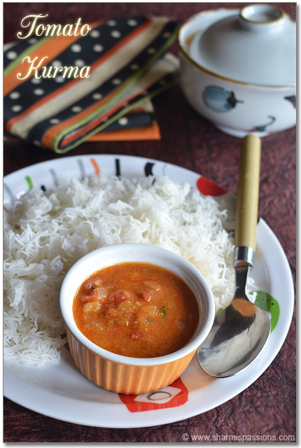Tomato Kurma Recipe