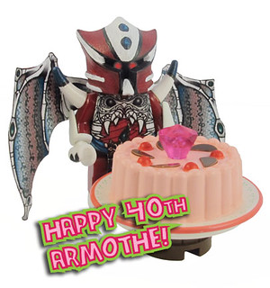 Armothe is 40!