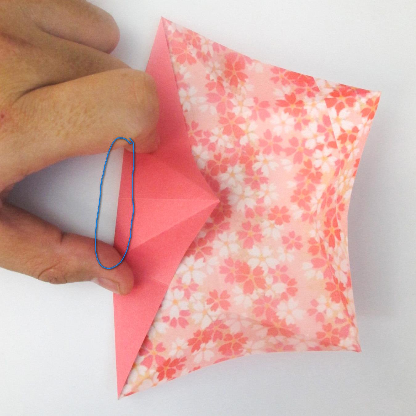 สอนวิธีการพับกระดาษเป็นดอกมะเฟือง (Origami Carambola) 010