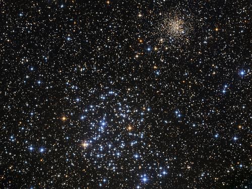 opencluster gemini deepspace astrophoto m35 ngc2158 astro:subject=m35 astro:gmt=20140205t2130