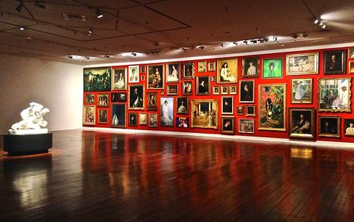 Wanderwall in Dunedin's Public Art Gallery