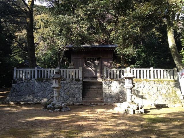 菩提山 白山神社