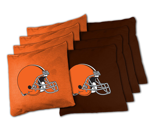 Cleveland Browns Cornhole Bags