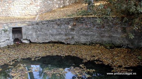 Granada - Deifontes - Restos romanos en el Nacimiento de Deifontes -  37 19' 52 -3 35' 10