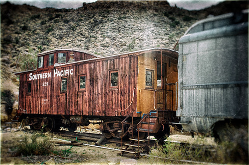 Little Red Caboose by hbmike2000