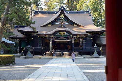 香取神宮拝殿 2 by leicadaisuki