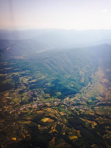 alps landscape flying sarajevo bosnia serbia diamond cessna balkan iphone c172 dv20