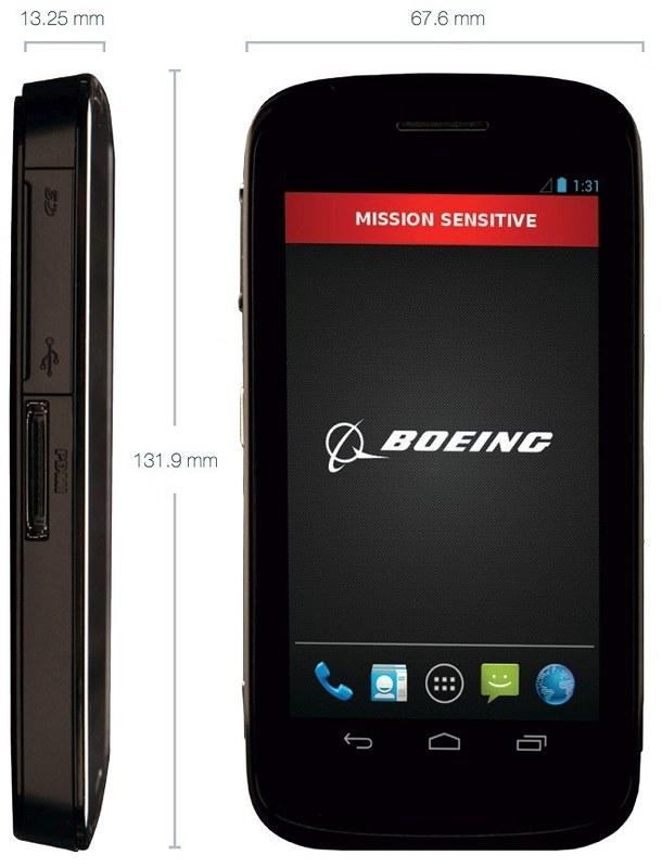Boeing Black specs
