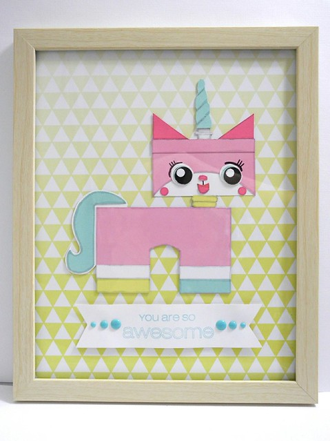 Uni-Kitty Wall Hanging