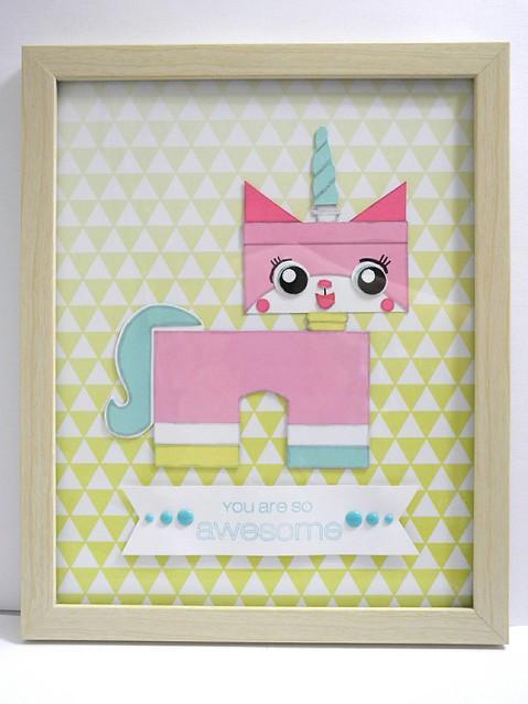 Uni-Kitty Wall Hanging