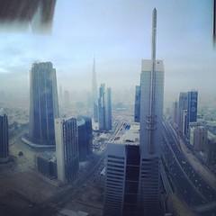 Dubai in the morning.
