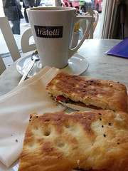 delicious panini @ Fratelli's