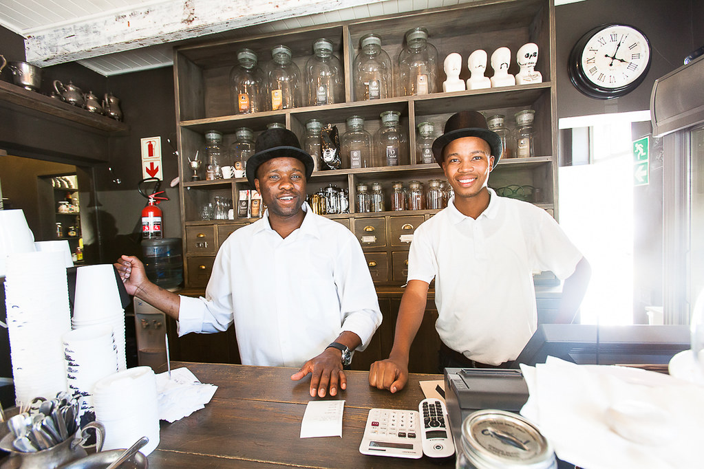 Waiters, Capetown, South Africa, 2013