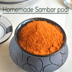 Homemade Sambar Powder Recipe (mom's version)