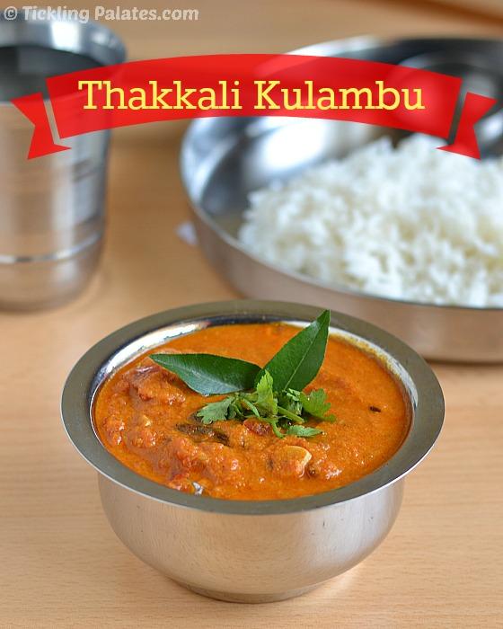 Chettinad Thakkali Kulambu