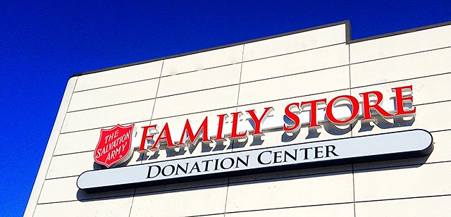 Rochester Salvation Army Bell Ringing