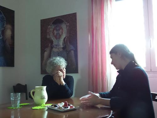 Un dialogo con una ospite speciale by Ylbert Durishti