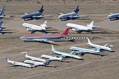 Pinal Air Park, Marana. Overflight on 9th Feb 2014