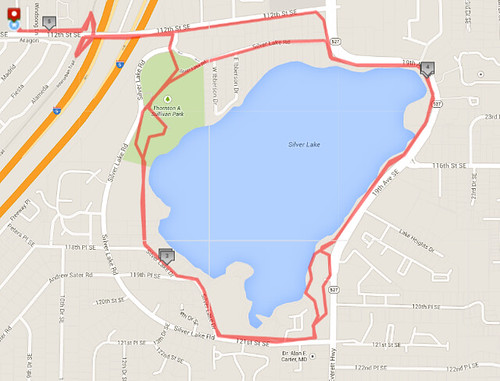 Today's awesome walk, 5.08 miles in 1:28 by christopher575