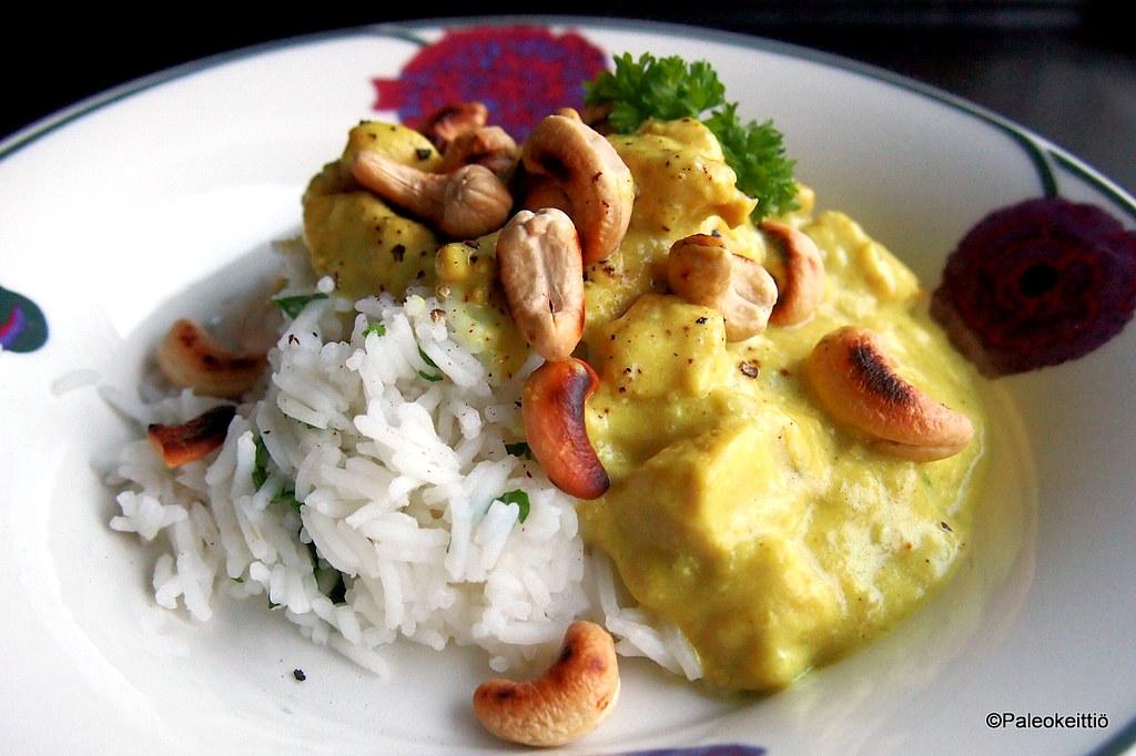 Intialainen banaanibroileri | paleokeittio.fi
