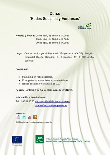 """AionSur 13946019711_edfe6f0c35_d Curso de """"Redes Sociales y Empresas"""" para los últimos días de abril Agenda Cultura"""