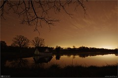 The Boathouse at Night
