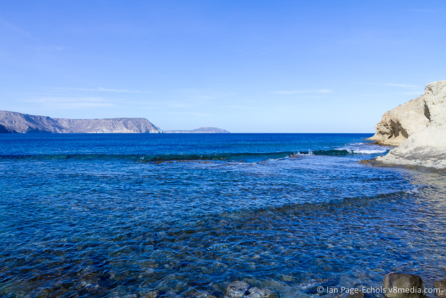 View From the Beach at Cabo de Gata