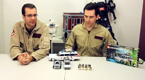 LEGO Ghostbusters 21108 & Brent Waller