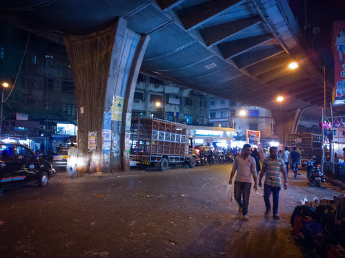 Mumbai town night view 2