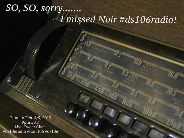 I'm Sorry Noir DS106Radio