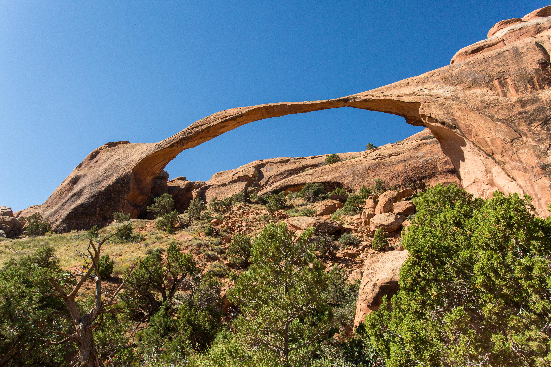 Arches National Park Landscape Arch Utah [OC] [5760x3840