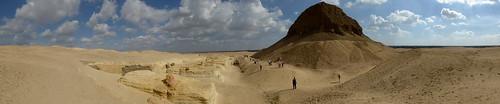 Panorama of Lahun Pyramid