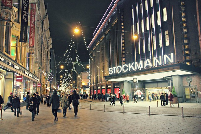 Stockmann at Night, Helsinki