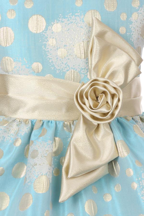 Polka Dot Flower Girl Dresses 22