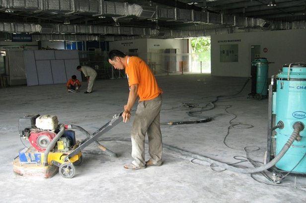 Hướng dẫn thi công sơn epoxy
