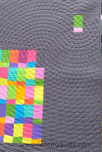 The One That Got Away quilted circles