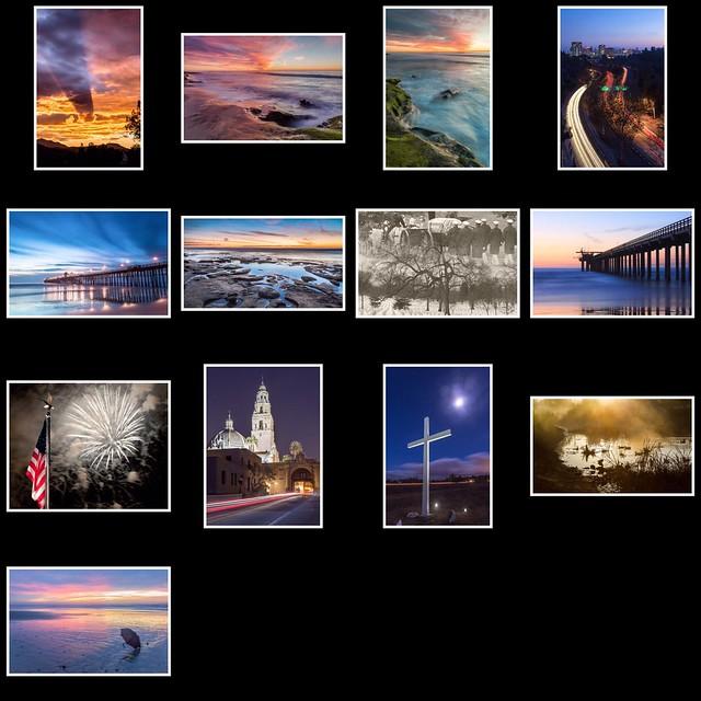Photo art calendar for 2015