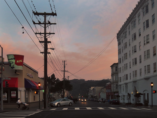 18th and Irving, early morning; The Sunset, San Francisco (2015)