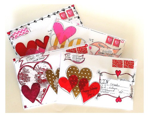 Valentine Mail Art