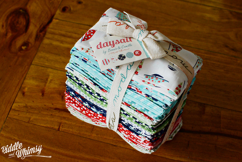 Riddle and {Whimsy} Feb Stash Report 2 Daysail by Bonnie and Camille (Fat Eighth bundle)