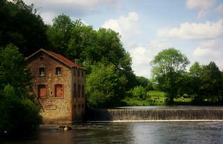 Sur les bords de la Mayenne...